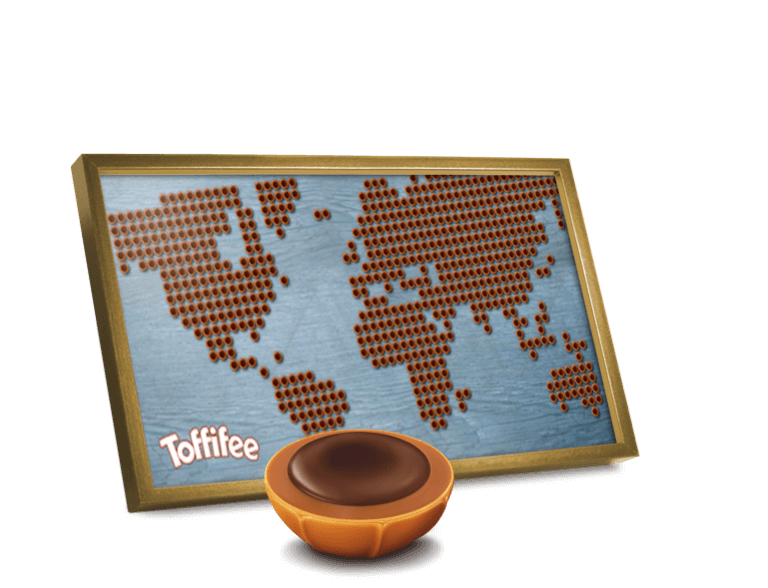 Toffifee on a world tour